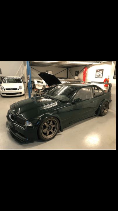 1997 BMW M3 GTR Original motorsport body. For Sale (picture 4 of 5)
