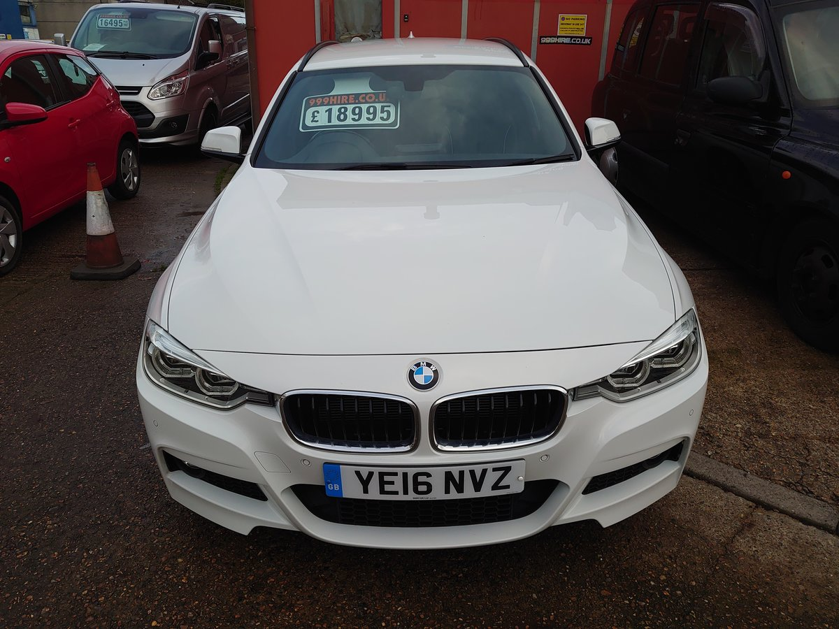 2016 BMW 320D X DRIVE M SPORT TOURER 40K For Sale (picture 2 of 8)