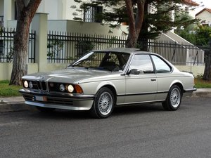 1984 BMW 628 CSi A, Bronzit Beize Metallic, excellent cond.
