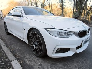 2016 66 BMW 420D Series Gran Coupe 4 door with M Sport styli