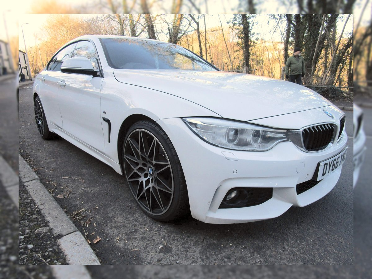 2016 66 BMW 420D Series Gran Coupe 4 door with M Sport styli For Sale (picture 2 of 9)