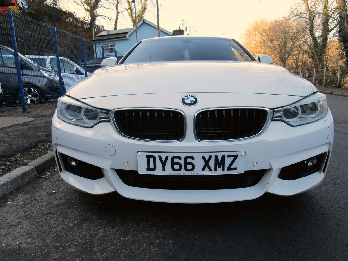 2016 66 BMW 420D Series Gran Coupe 4 door with M Sport styli For Sale (picture 3 of 9)