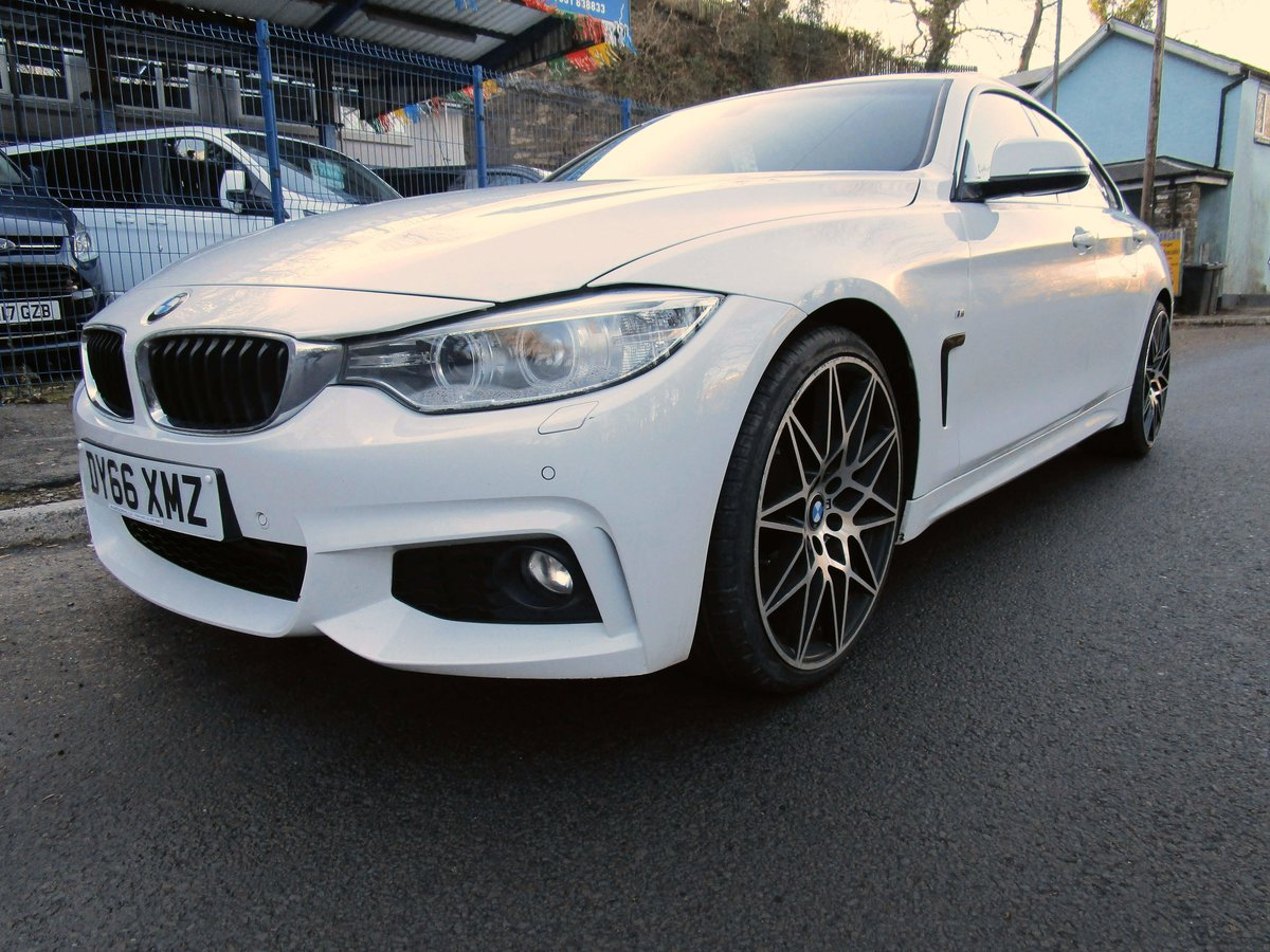2016 66 BMW 420D Series Gran Coupe 4 door with M Sport styli For Sale (picture 4 of 9)
