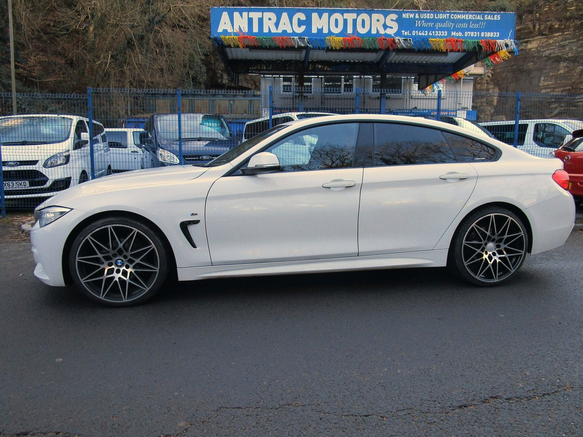 2016 66 BMW 420D Series Gran Coupe 4 door with M Sport styli For Sale (picture 5 of 9)