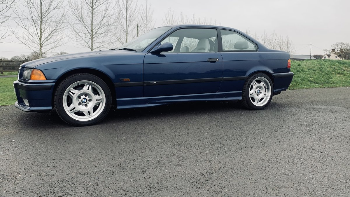 1994 BMW m3 e36 COUPE 5 speed unmodified full mot For Sale (picture 2 of 12)