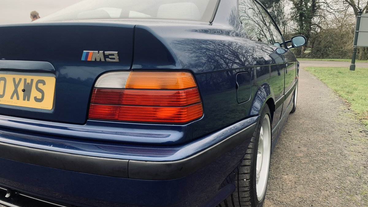 1994 BMW m3 e36 COUPE 5 speed unmodified full mot For Sale (picture 6 of 12)
