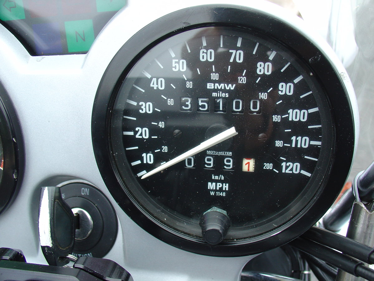 1992 BMW R100R, Superb, Owned by me since 1993 For Sale (picture 11 of 12)