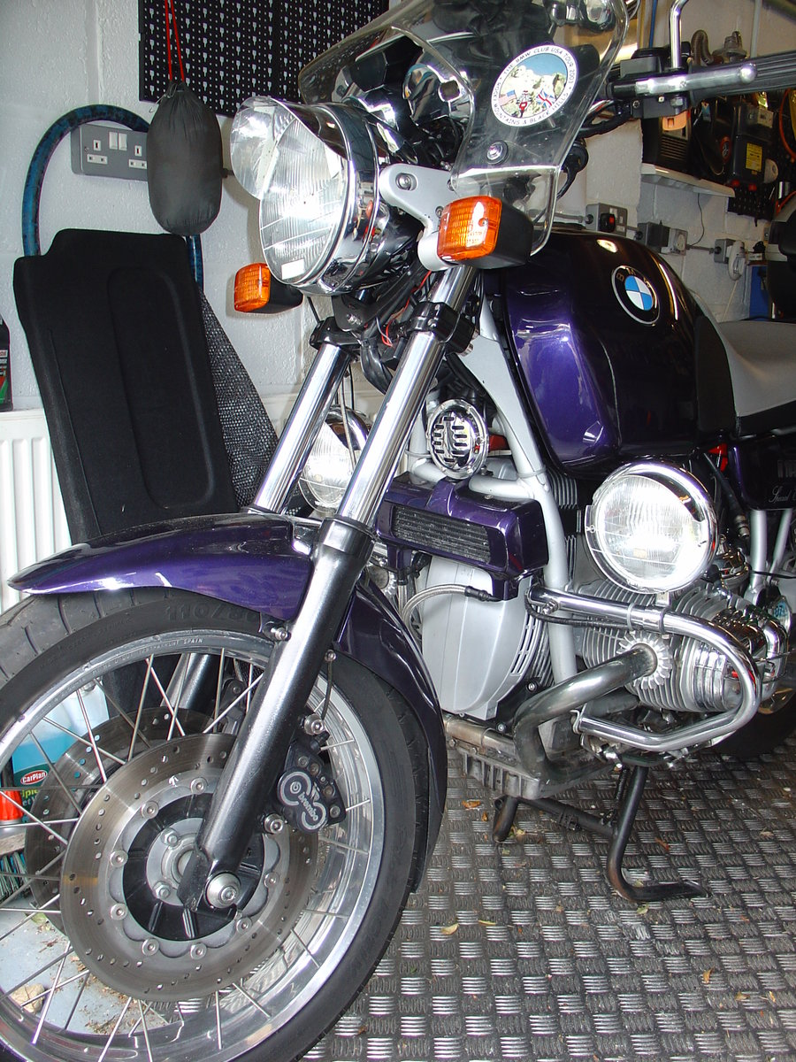 1992 BMW R100R, Superb, Owned by me since 1993 For Sale (picture 12 of 12)