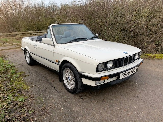1989 BMW 320I CAB MANUAL For Sale (picture 1 of 17)