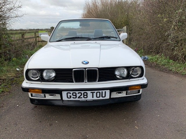 1989 BMW 320I CAB MANUAL For Sale (picture 2 of 17)