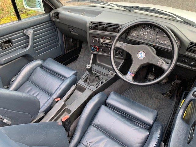 1989 BMW 320I CAB MANUAL For Sale (picture 7 of 17)