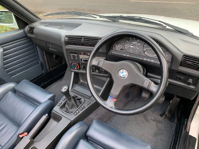 1989 BMW 320I CAB MANUAL For Sale (picture 14 of 17)