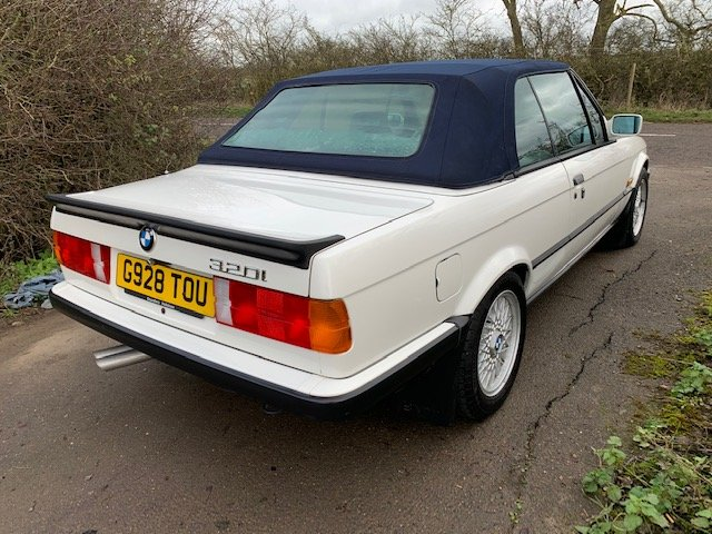 1989 BMW 320I CAB MANUAL For Sale (picture 17 of 17)