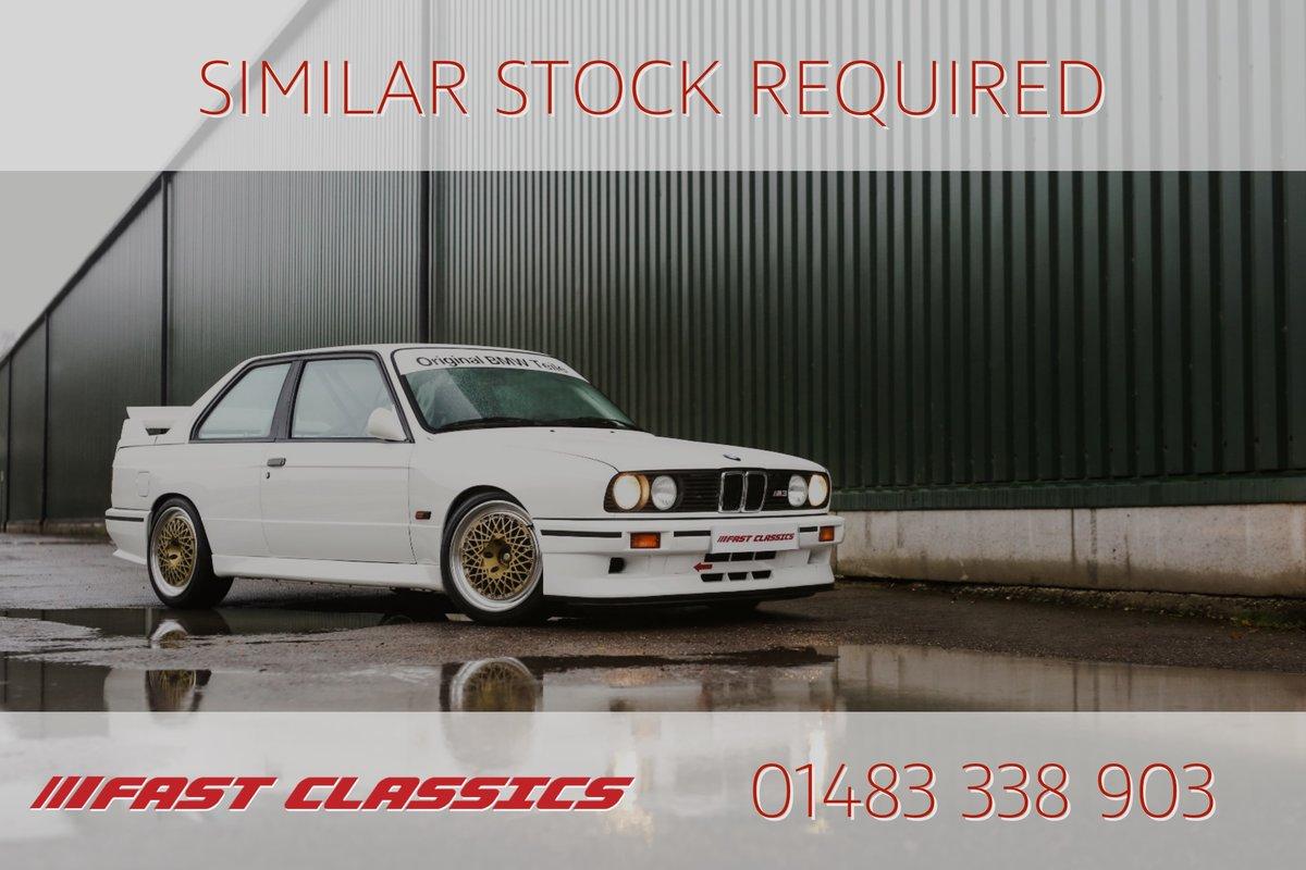 1988 BMW E30 M3 EVO 2 SOLD (picture 25 of 25)