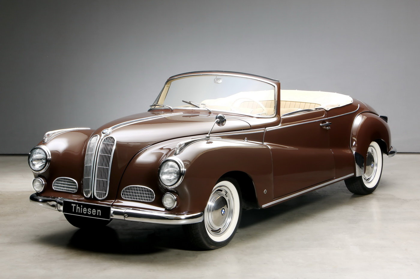 1955 502 V8 Autenrieth Sport-Cabriolet For Sale (picture 1 of 12)