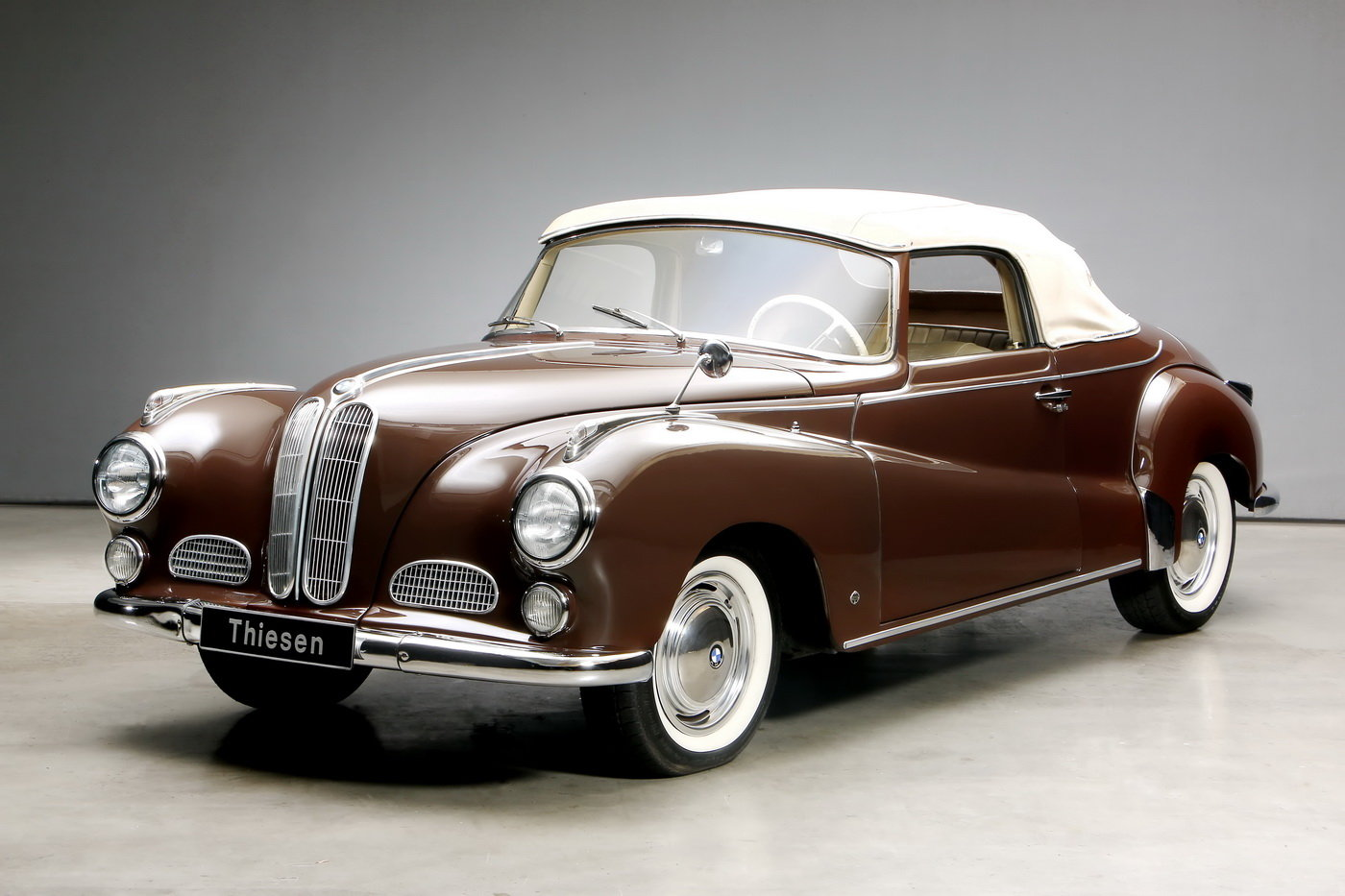 1955 502 V8 Autenrieth Sport-Cabriolet For Sale (picture 6 of 12)