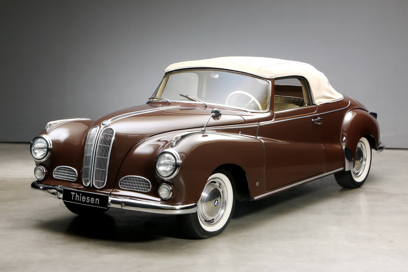 1955 502 V8 Autenrieth Sport-Cabriolet For Sale (picture 8 of 12)