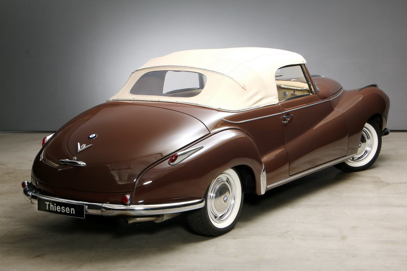 1955 502 V8 Autenrieth Sport-Cabriolet For Sale (picture 9 of 12)