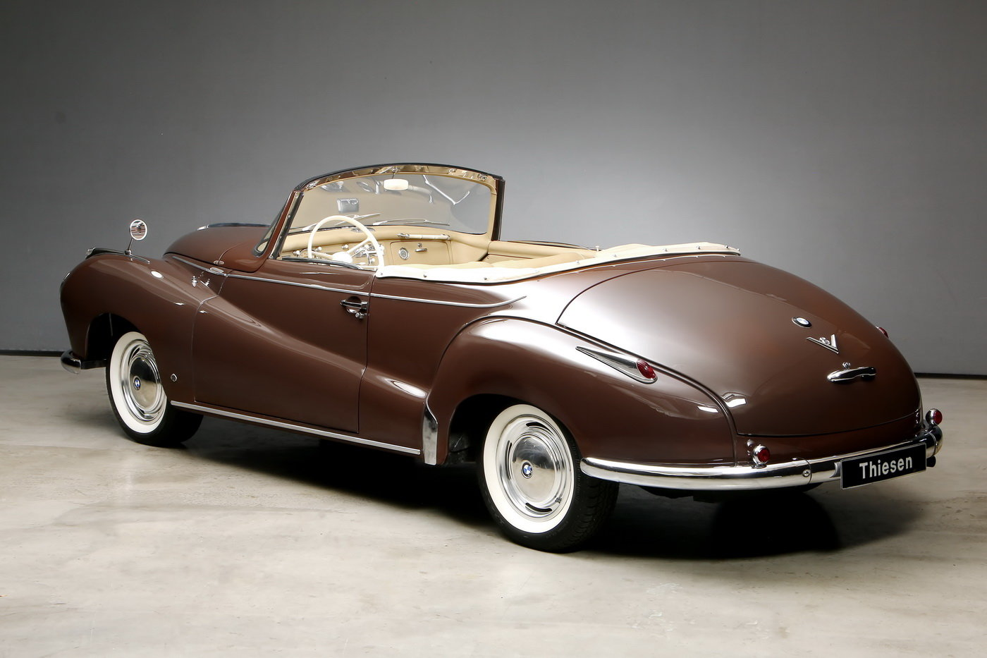 1955 502 V8 Autenrieth Sport-Cabriolet For Sale (picture 10 of 12)