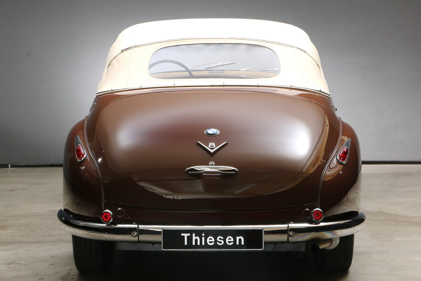 1955 502 V8 Autenrieth Sport-Cabriolet For Sale (picture 12 of 12)