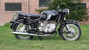 BMW R69 with the donkelaar 700cc kit matching numbers