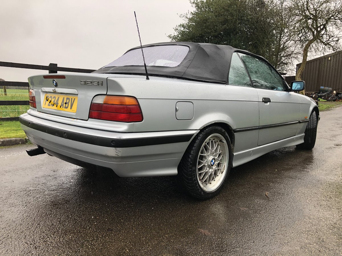 1997 E36 BMW 323I CONVERTIBLE-LOW GENUINE MILES For Sale (picture 2 of 12)