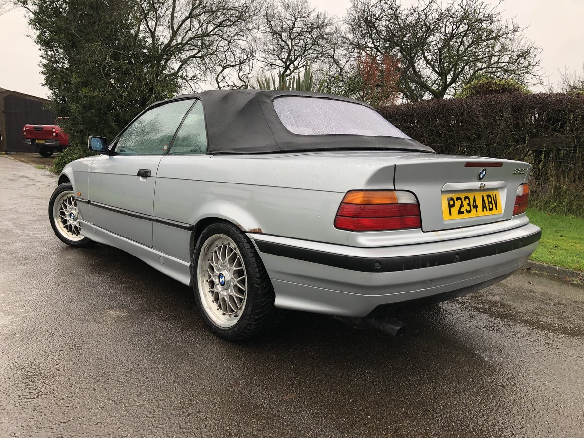 1997 E36 BMW 323I CONVERTIBLE-LOW GENUINE MILES For Sale (picture 3 of 12)