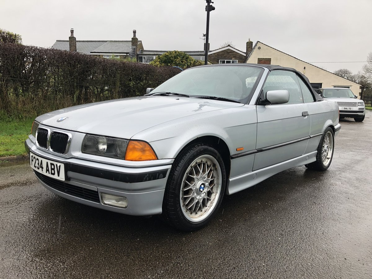 1997 E36 BMW 323I CONVERTIBLE-LOW GENUINE MILES For Sale (picture 4 of 12)