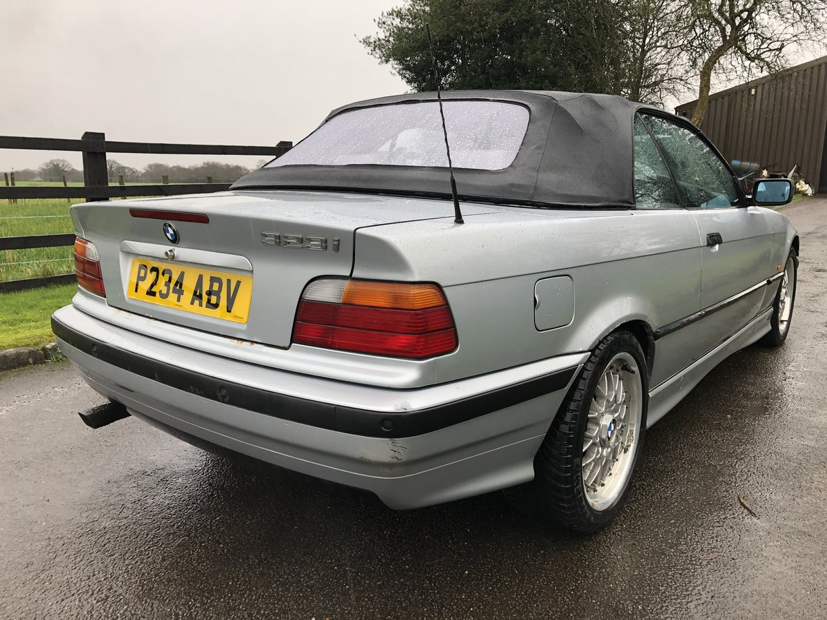 1997 E36 BMW 323I CONVERTIBLE-LOW GENUINE MILES For Sale (picture 5 of 12)