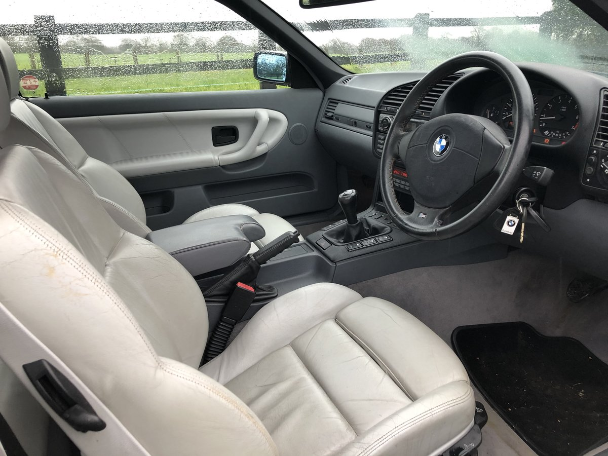 1997 E36 BMW 323I CONVERTIBLE-LOW GENUINE MILES For Sale (picture 6 of 12)