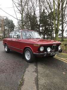 BMW 2002 Saloon in Emola Red