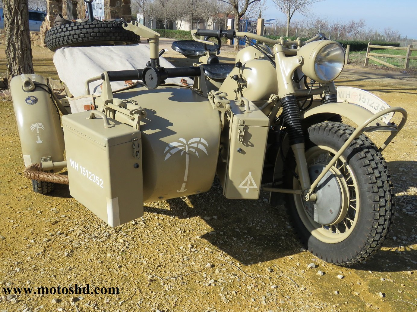 BMW R75 from 1943 For Sale (picture 1 of 12)