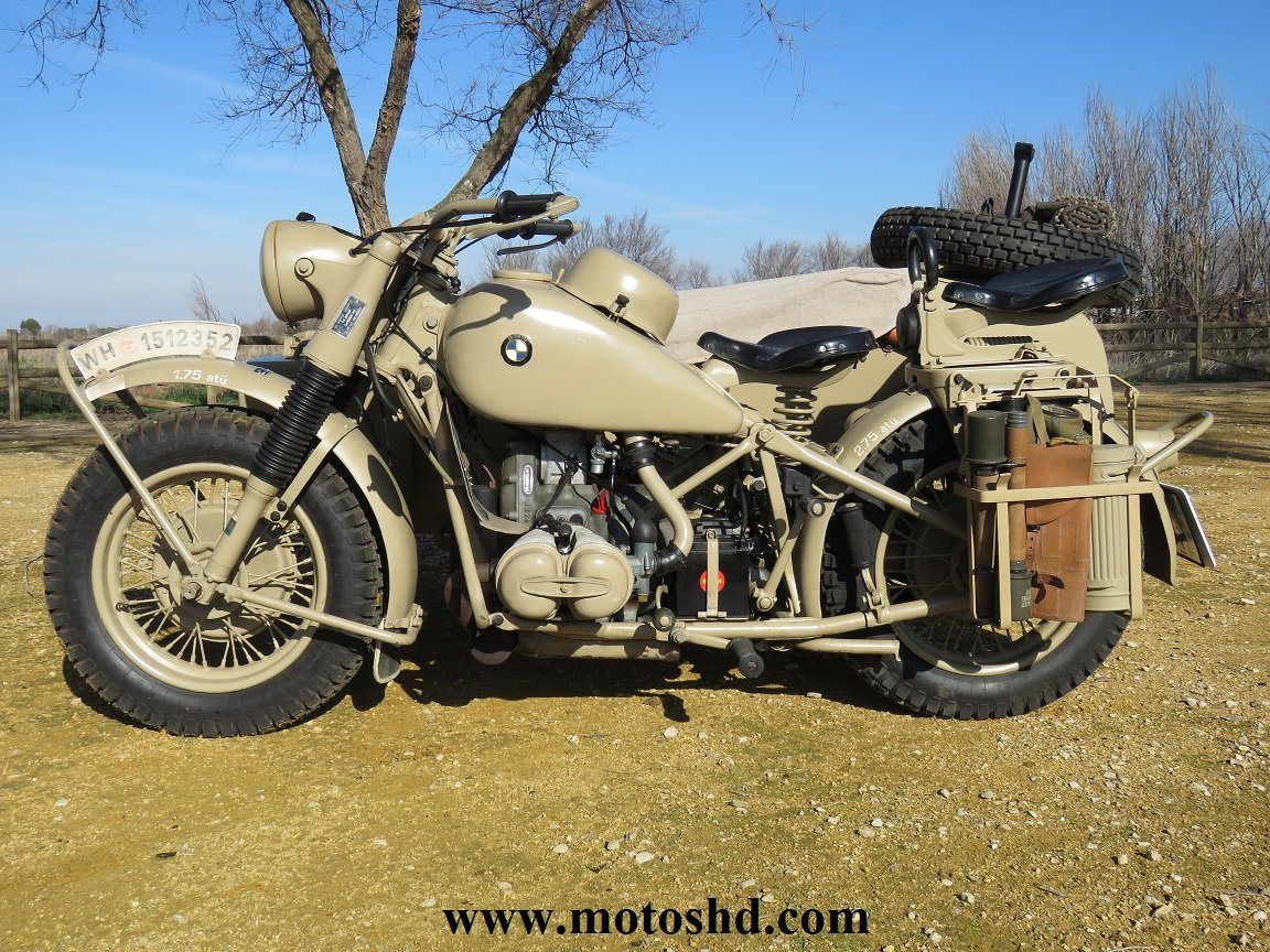 BMW R75 from 1943 For Sale (picture 3 of 12)