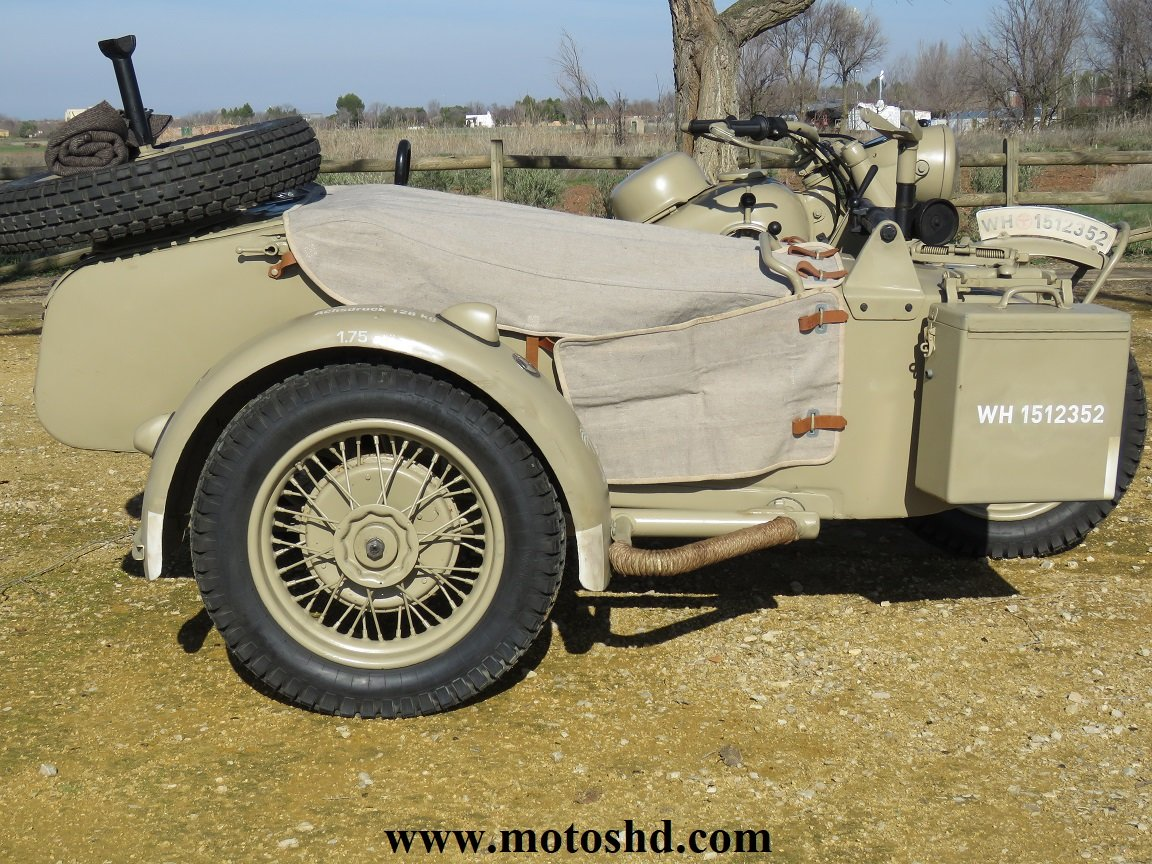 BMW R75 from 1943 For Sale (picture 4 of 12)