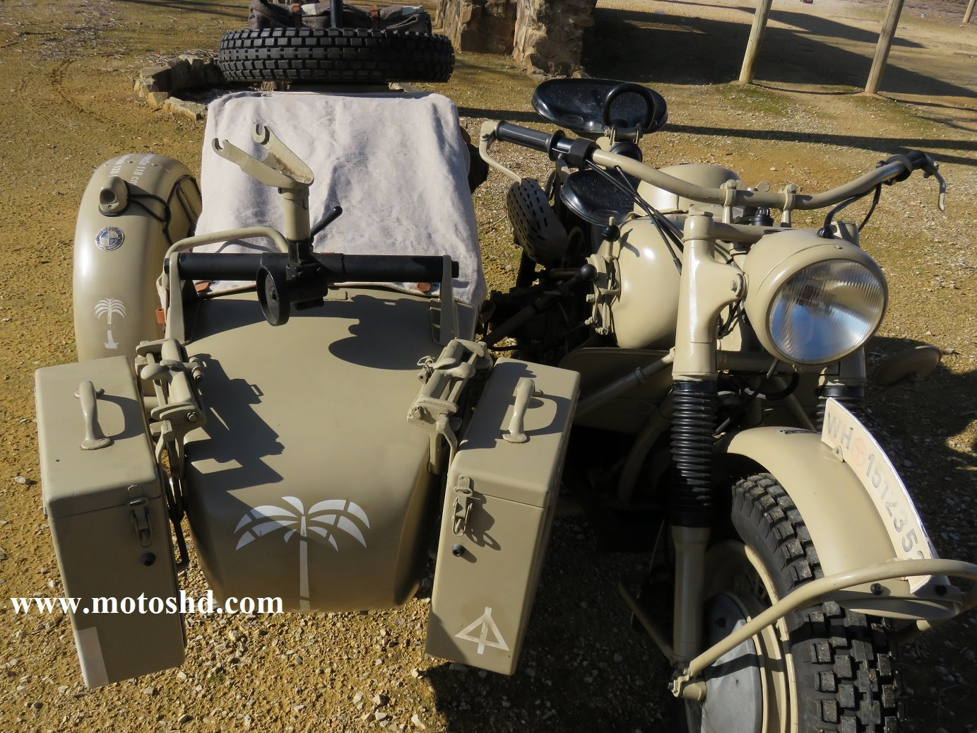 BMW R75 from 1943 For Sale (picture 5 of 12)
