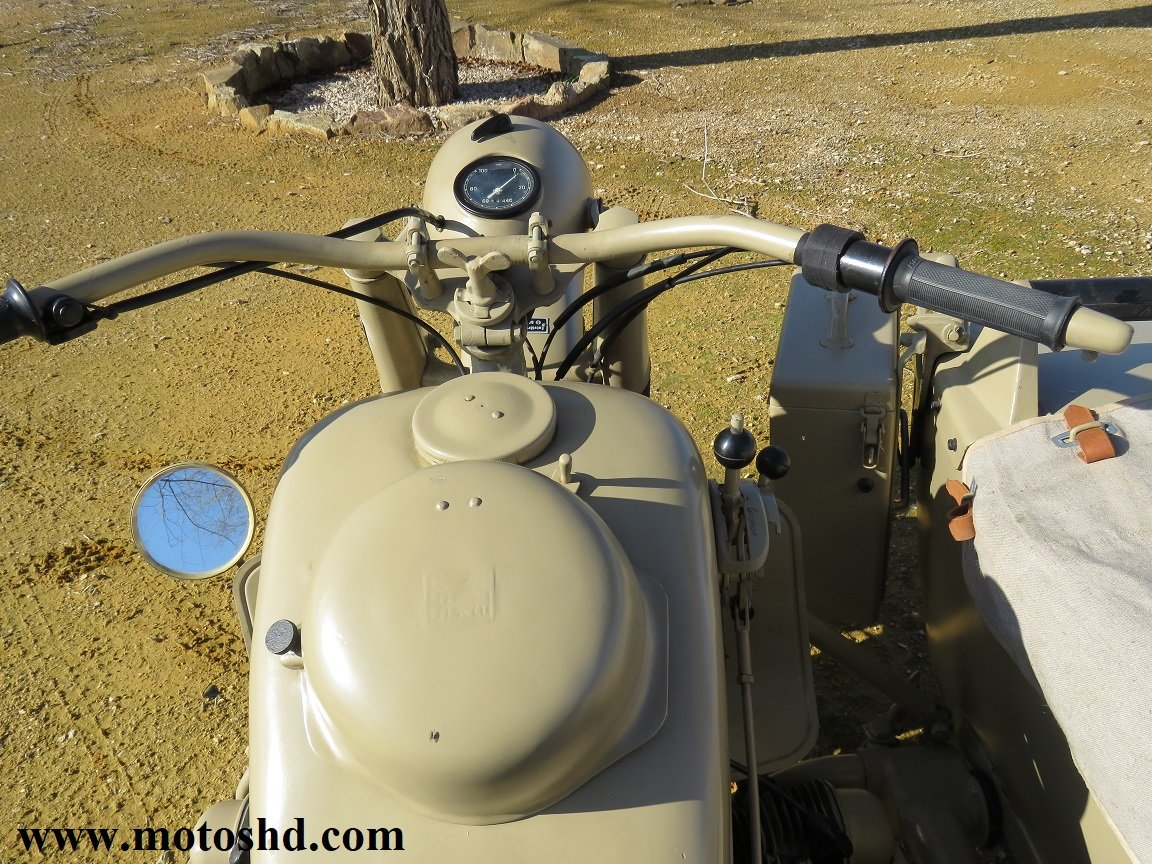 BMW R75 from 1943 For Sale (picture 11 of 12)