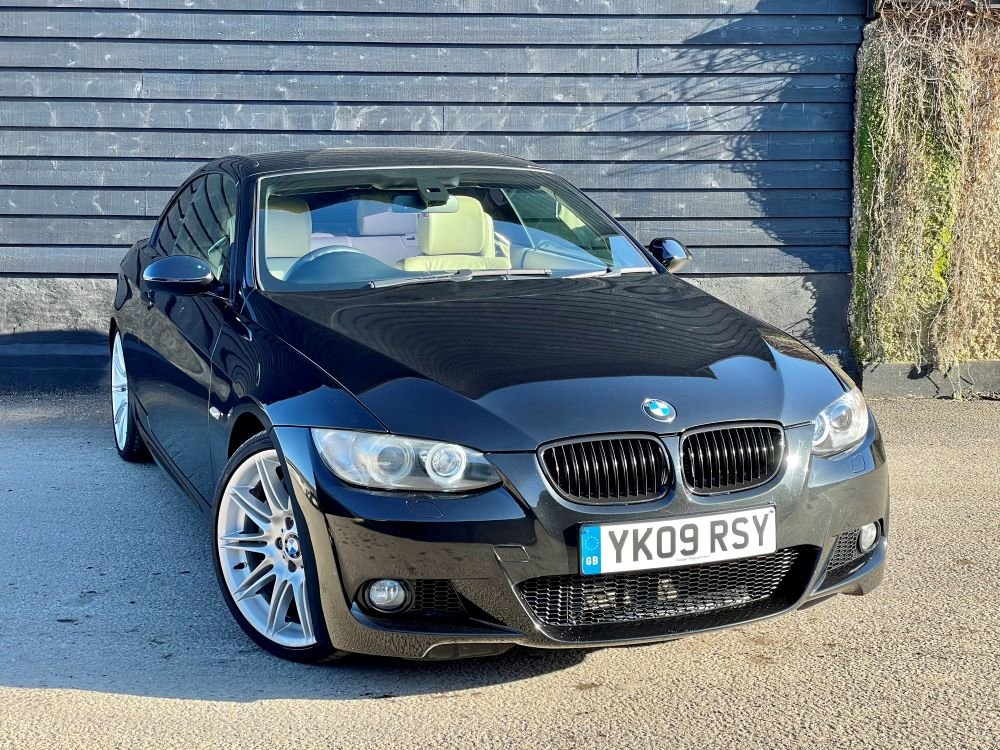 2009 BMW 335i M Sport Auto Convertible FSH+RAC Approved For Sale (picture 1 of 1)