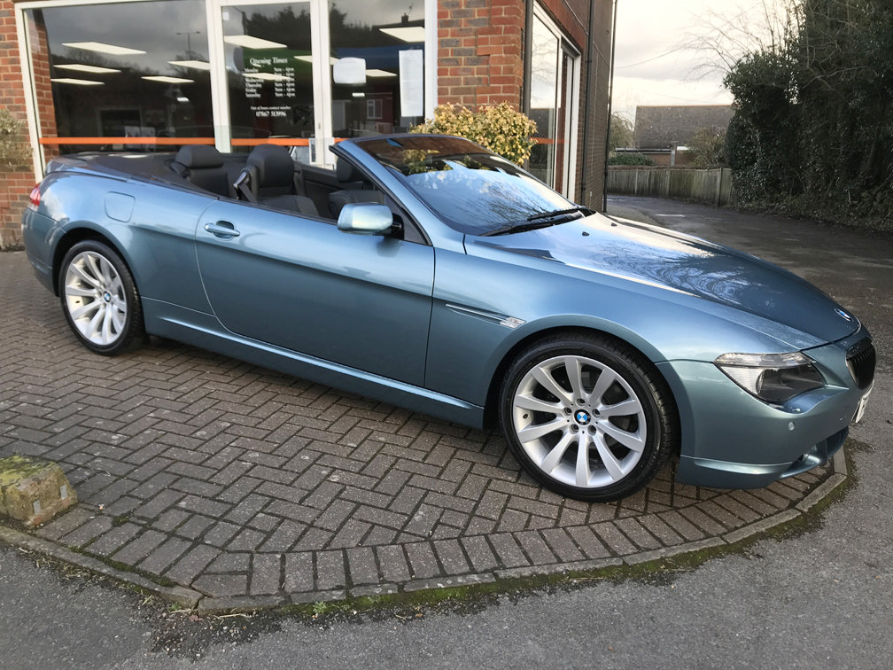 Picture of 2006 BMW 630i SPORT CONVERTIBLE (Just 22,000 miles from new) For Sale