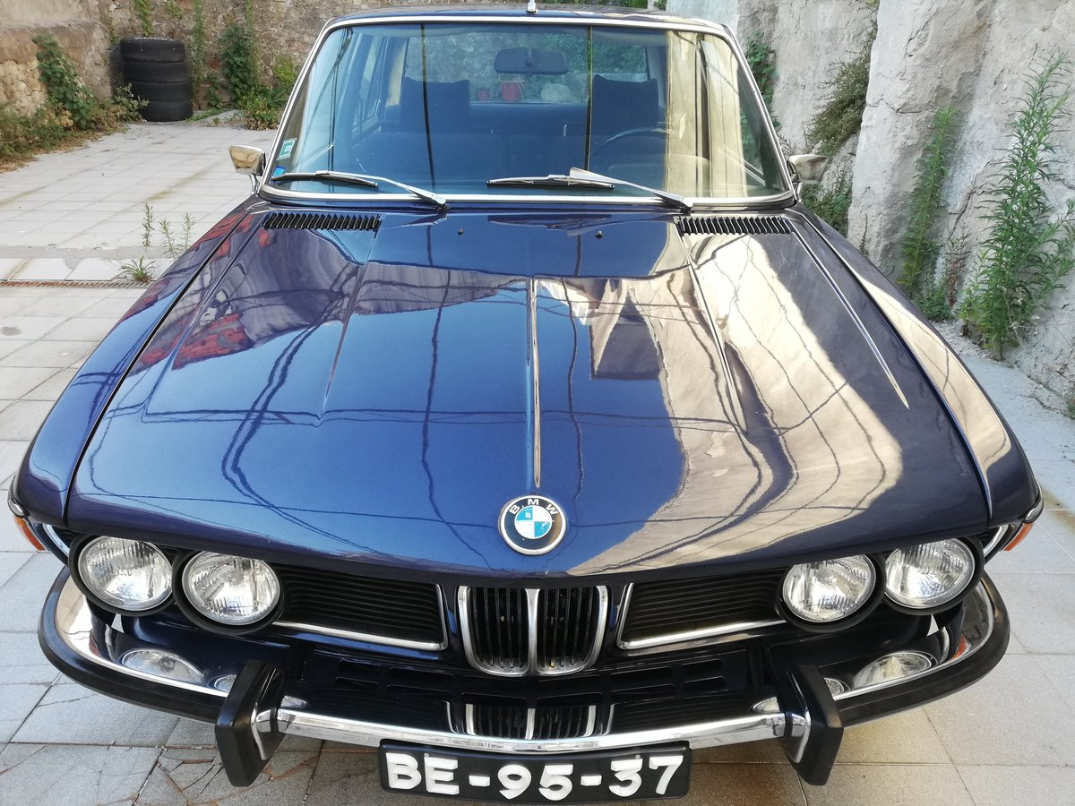 1973 BMW 3.0 S E3 NEW SIX Mint Condition For Sale (picture 2 of 12)