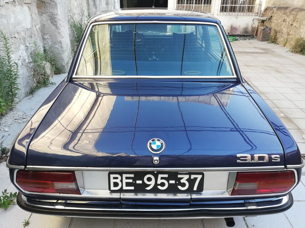 1973 BMW 3.0 S E3 NEW SIX Mint Condition For Sale (picture 4 of 12)