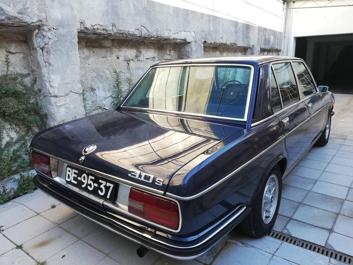 1973 BMW 3.0 S E3 NEW SIX Mint Condition For Sale (picture 5 of 12)