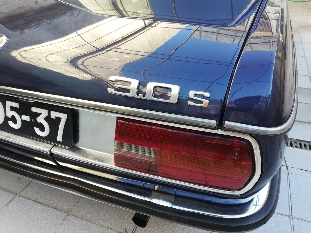 1973 BMW 3.0 S E3 NEW SIX Mint Condition For Sale (picture 6 of 12)
