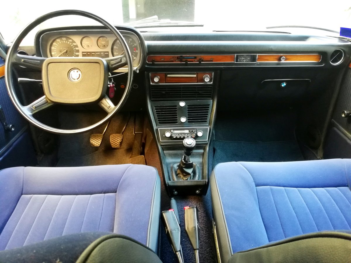 1973 BMW 3.0 S E3 NEW SIX Mint Condition For Sale (picture 7 of 12)