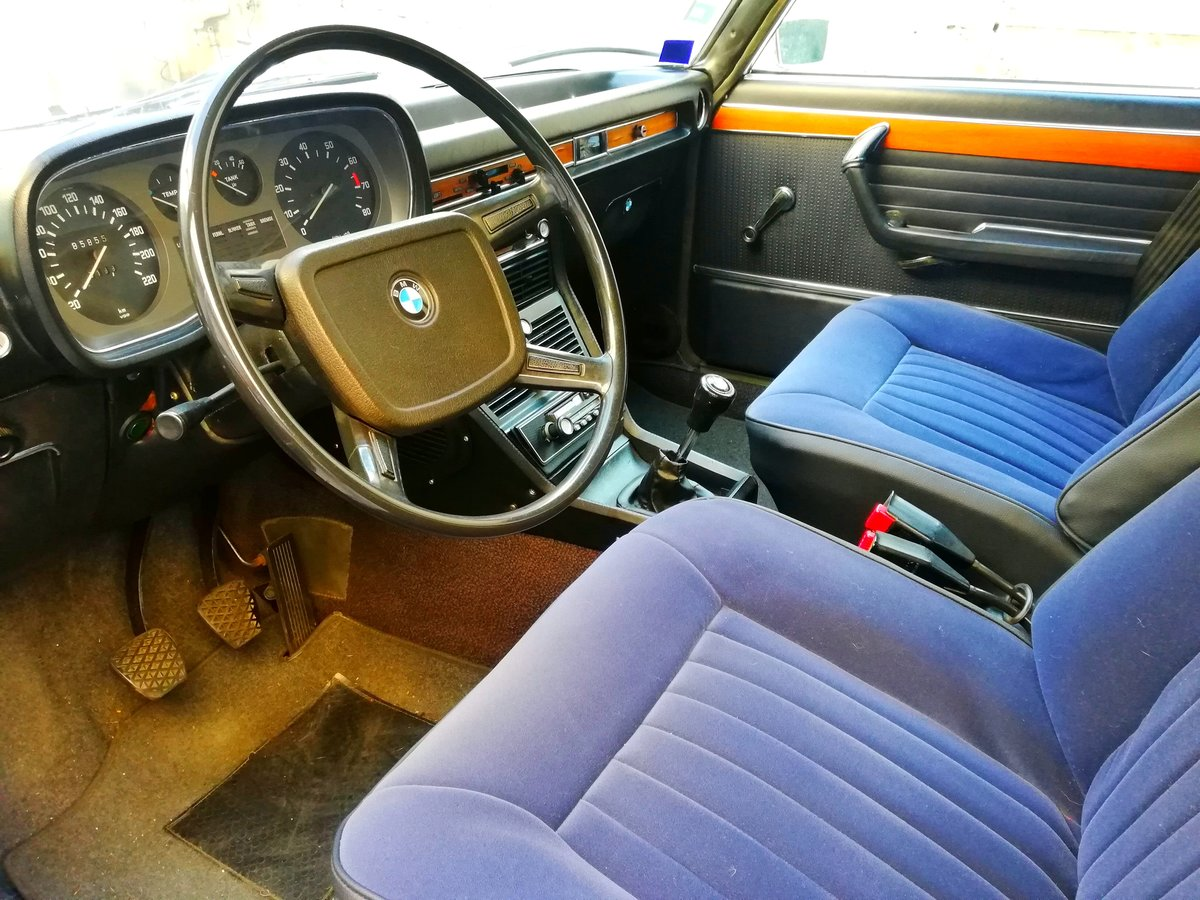 1973 BMW 3.0 S E3 NEW SIX Mint Condition For Sale (picture 8 of 12)