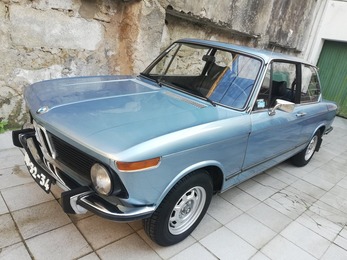 1977 BMW 1502 FJORD BLUE For Sale (picture 1 of 12)