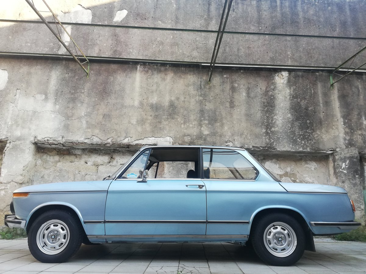 1977 BMW 1502 FJORD BLUE For Sale (picture 3 of 12)
