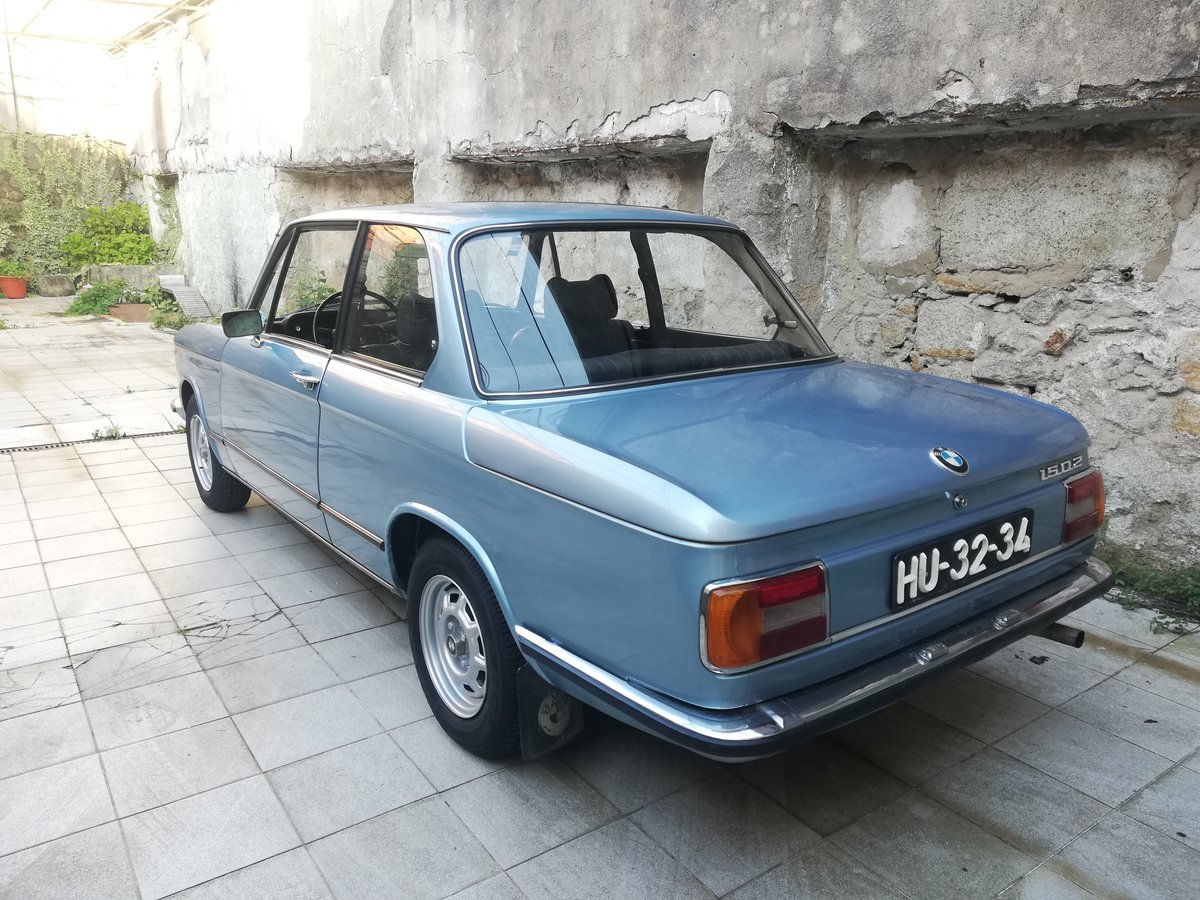 1977 BMW 1502 FJORD BLUE For Sale (picture 4 of 12)