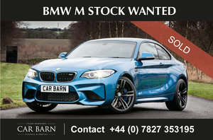 Picture of 2018 BMW M Stock Wanted For Sale