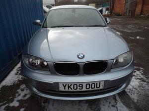 Picture of BMW 120 S. PETROL 5 DOOR MANUAL IN BLUE LONG MOT 147K 2009 For Sale