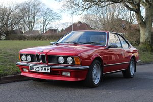 Picture of BMW 635 CSI 1987 - To be auctioned 26-03-21 For Sale by Auction